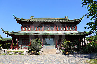 Old style chinese building