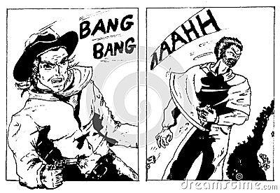 Old style comics