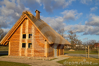 Old style cottage house