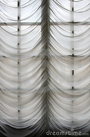 Free Old Style Curtains Stock Image - 6062011