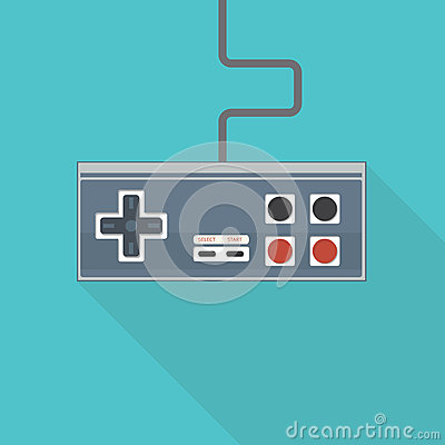 Free Old Style Gamepad Royalty Free Stock Photography - 74631077