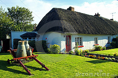 Old Style Irish Cottage Adare Co. Limerick