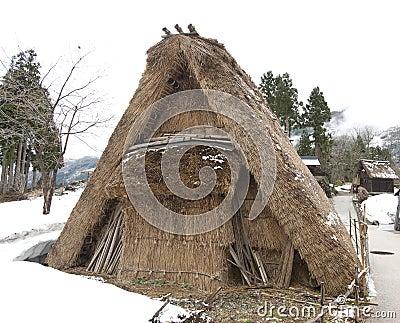 Old-style Japanese dwelling