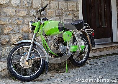 Old style moto bike