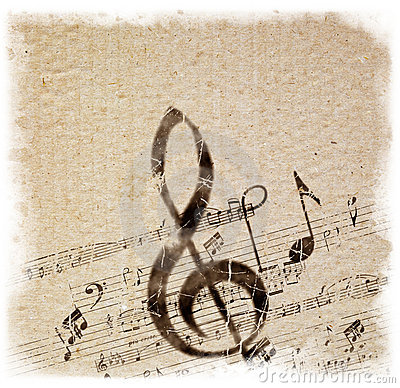 Free Old Style Music Background Stock Images - 5900044