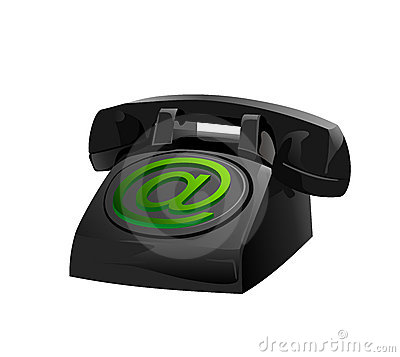 Old Style Phone Icon Royalty Free Stock Photography - Image: 22883937