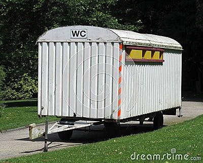 Old Style Portable Toilet