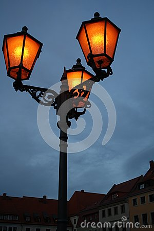 Old style street lights