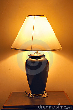 Old style table lamp
