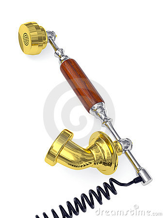 Old Style Telephone Receiver Royalty Free Stock Photography - Image: 18317017
