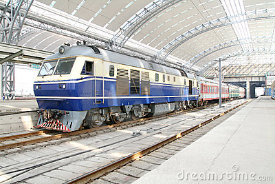 Old style train
