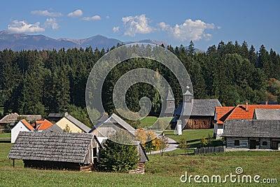Old style village