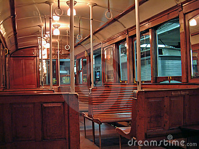 Old Subway Car Royalty Free Stock Images - Image: 1071739