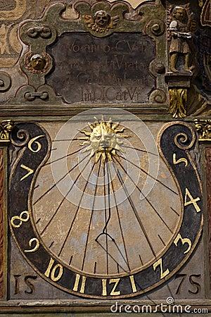 Free Old Sundial Royalty Free Stock Photo - 17943595