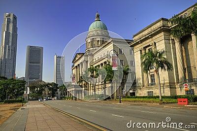 Old Supreme Court, Singapore Editorial Stock Photo