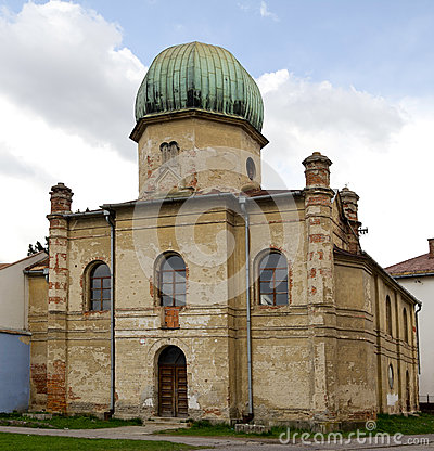 Old synagogue building