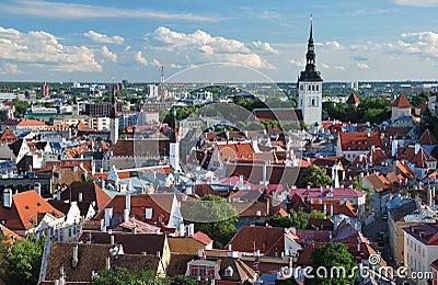 Old Tallinn panorama