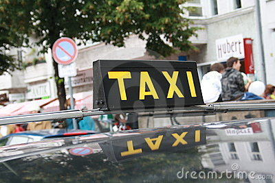 Old Taxicab Sign