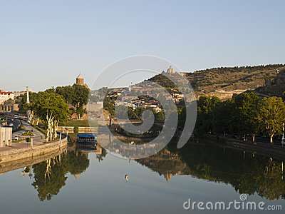 Old Tbilisi view