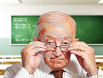 Old teacher