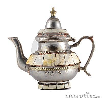 Free Old Teapot Stock Image - 9487111