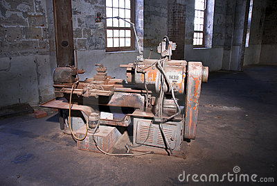 Old Technology Industrial Machine