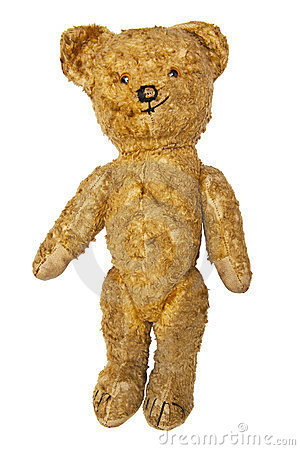 Free Old Teddy Bear Royalty Free Stock Photos - 23414418