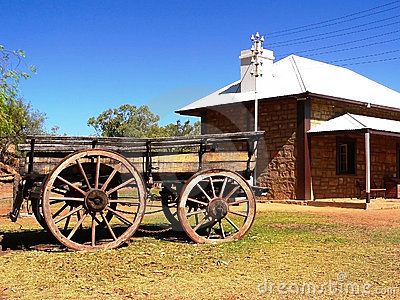 Old Telegraph Station, Alice Springs, Central Australia