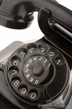 Old telephon
