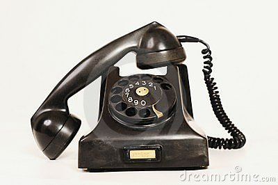 Old Telephone Stock Photo - Image: 19885480