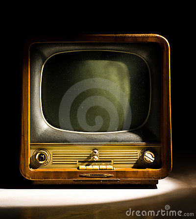 Free Old Television Royalty Free Stock Photo - 5198485