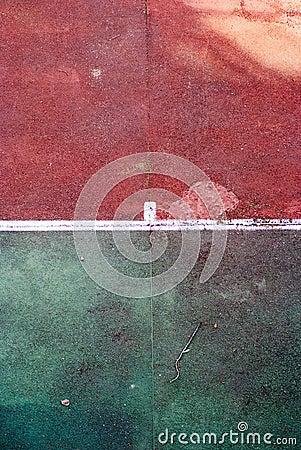 Old tennis court