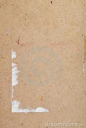 Old textured plywood