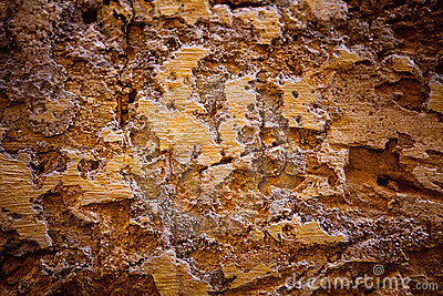 Old textured stone wall background