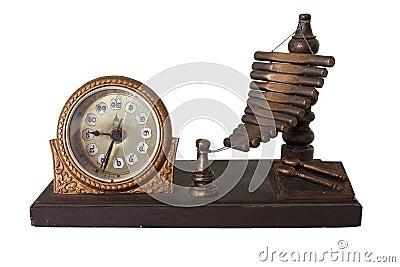 Old thai style clock