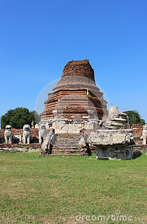 Old thai temple