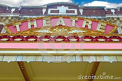 Old Theatre Marque.