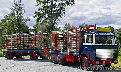 Old Timber Truck