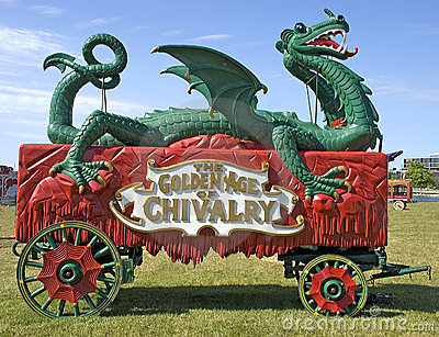 Old Time Circus Wagon