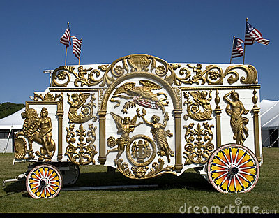 Old Time Circus Wagon