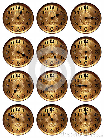 Old time clock hours
