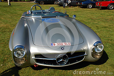 Old timer mercedes 300 sls Editorial Photography