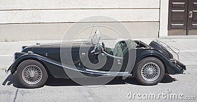 Old Timer Morgan Car Editorial Stock Image Image 33838424