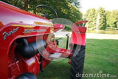 Old timer Porsche tractor Editorial Photo