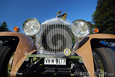 Old timer Rolls Royce Editorial Photo