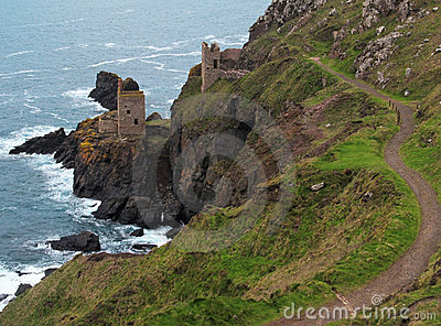 Old Tin Mine Cornwall