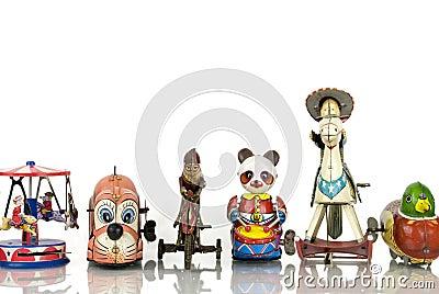 Old Tin Toys