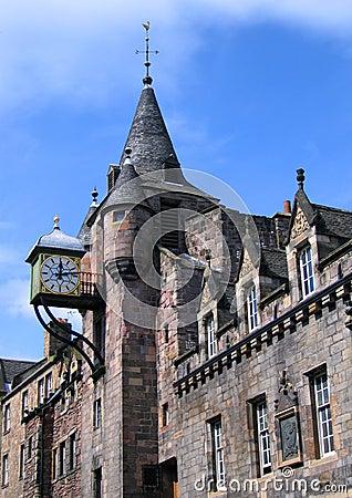 Old Tolbooth, Royal Mile, Cannongate, Edinburgh, S