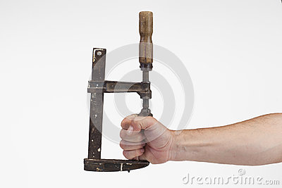 Old tool tightens hand