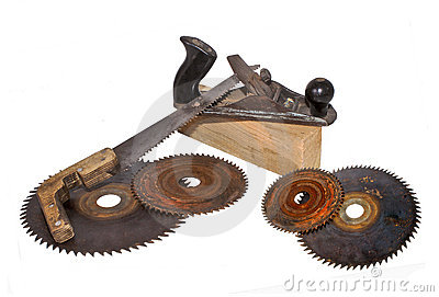 Old tools.
